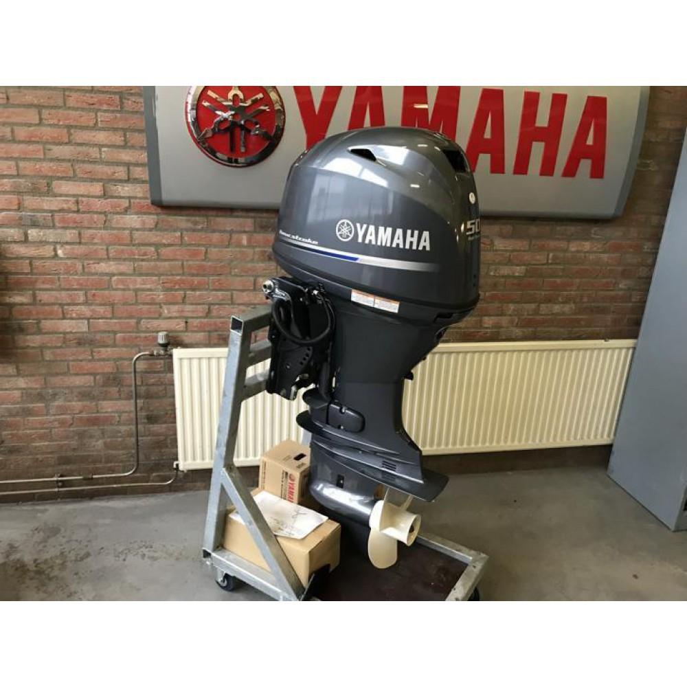 Nieuwe Yamaha FT 50 Pk 4 takt, High Thrust aanbieding
