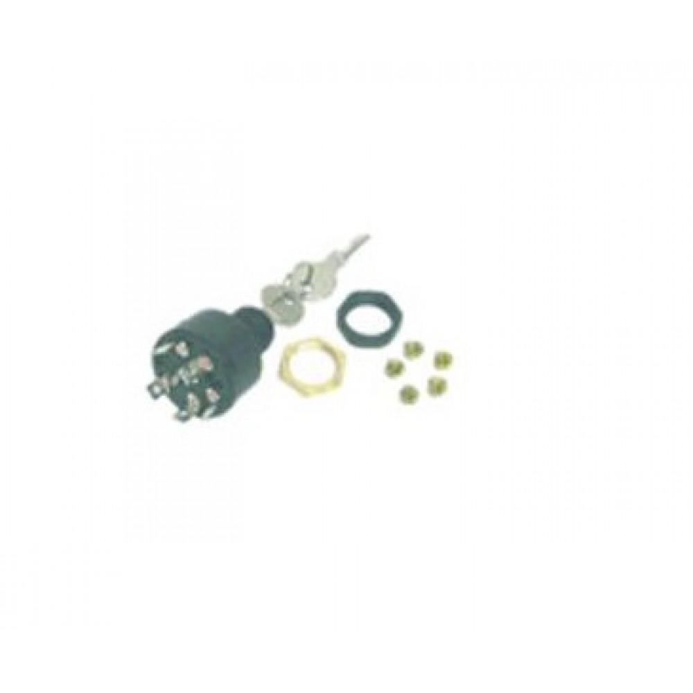 Contactslot drukken voor shoke, positie off-ign-start (MP41000)