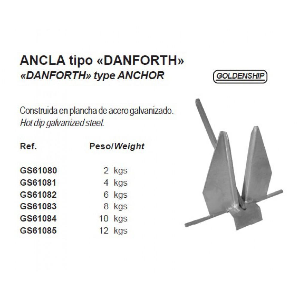 """Anker """"Danforth"""" 2 tot 20 kg"""