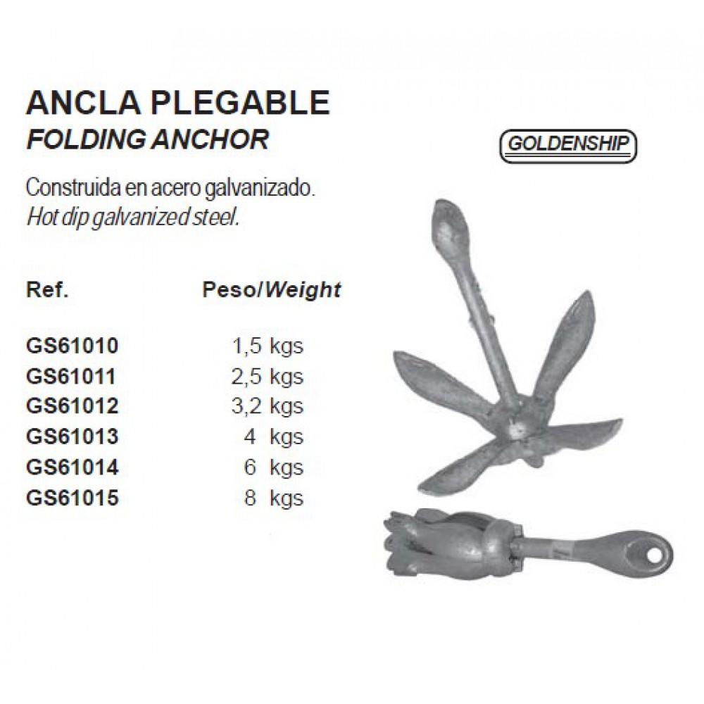 folding anker 1.5 tot 8 kg