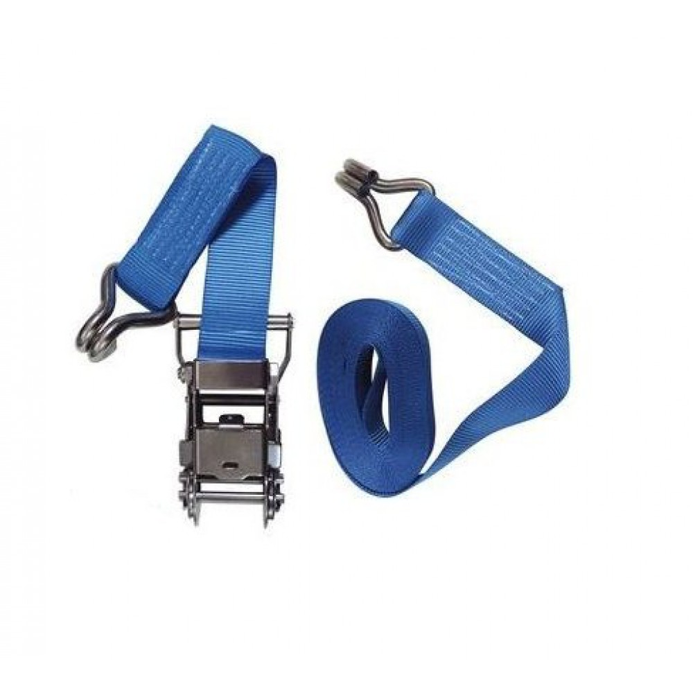 Spanband 6 meter J haak 1500 kg RVS